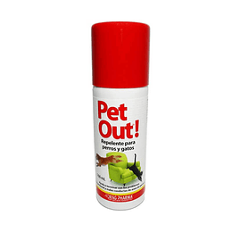 PET OUT REPELENTE 160 ML.