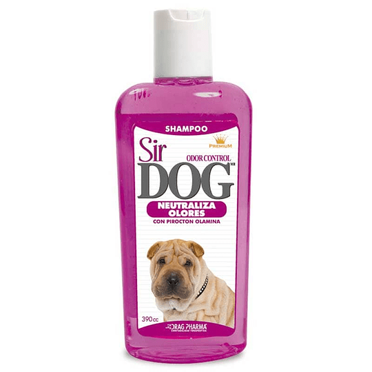 SIR DOG SHAMPOO NEUTRALIZA OLORES 390 ML