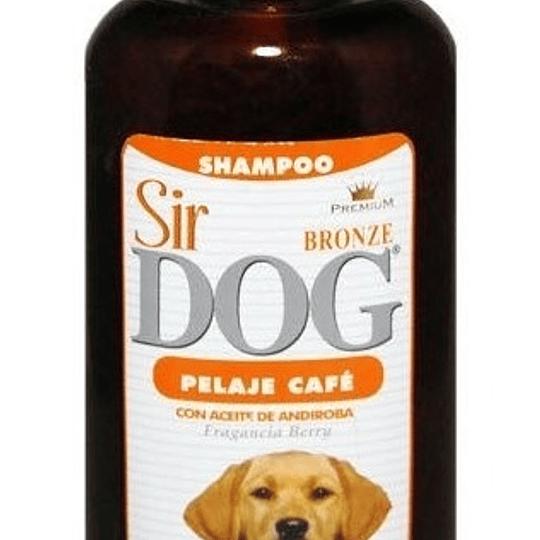 SIR DOG SHAMPOO PELAJE CAFE 390 ML