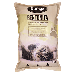 ARENA BENTONITA NUTHYA 4 K.