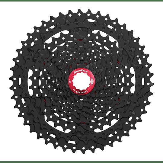 PIÑON SUN RACE CASSETTE MX3 10S (11-42) NEGRO