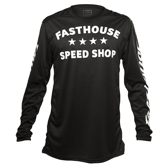JERSEY FASTHOUSE DROPPER BLACK