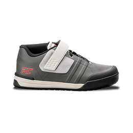 Zapatillas Ride Concepts Transition Mens Charcoal/Red con Fijaciones