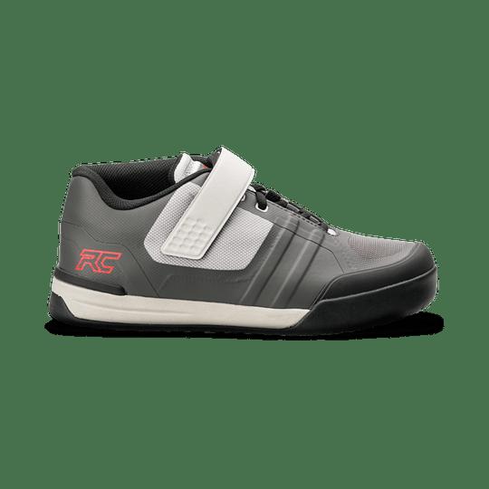 Zapatillas Ride Concepts Transition Mens Charcoal/Red con Fijaciones