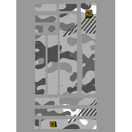 PROLINE BIKE GUARD CAMO (TRANSPARENTE)