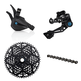 GROUPSET BOX TRHEE P9 X-WIDE MULTI SHIFT