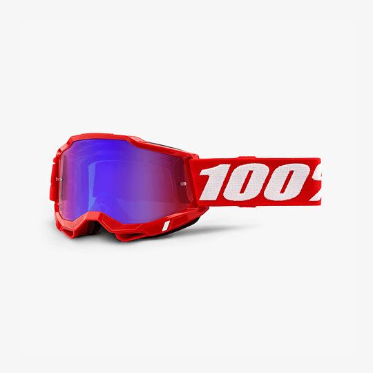 ANTIPARRAS 100% ACCURI2 - NEON RED