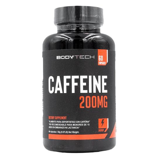 Cafeina 200 mg 60 Capsulas BTECH