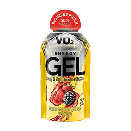 VO2 Energy Gel, Carbohidratos sin cafeína (30 gr)