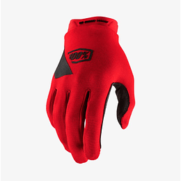 Guantes 100% Ridecamp Red