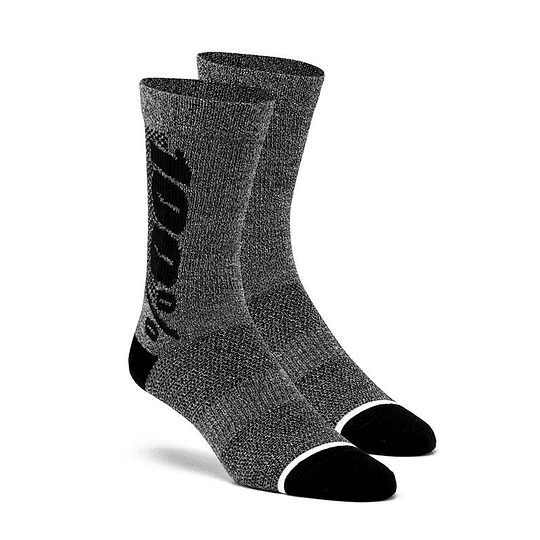 CALCETINES 100% RYTHYM CHARCOAL GRAY