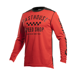 JERSEY FASTHOUSE CARBON RED
