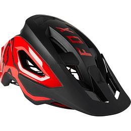 Casco Bicicleta Speedframe Pro Negro/Rojo