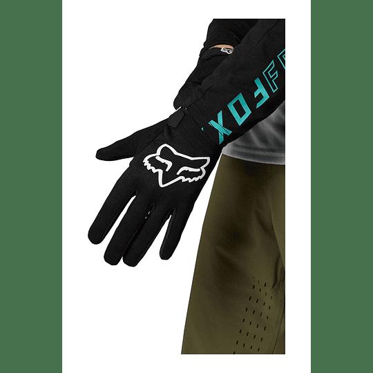 Guantes Bicicleta Ranger Negro 2021 FOX