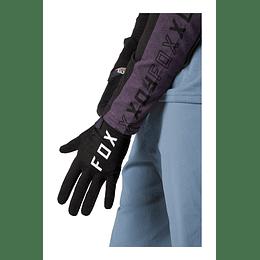 Guantes Bicicleta Ranger GEL Negro 2021 FOX