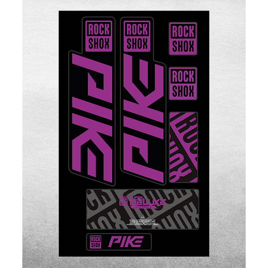 PROLINE FORK DECALS - RS PIKE 2021