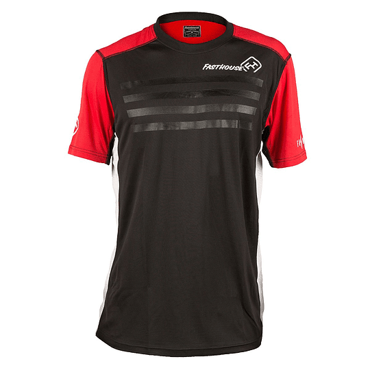 JERSEY FASTHOUSE FASTLINE STRIPES RED