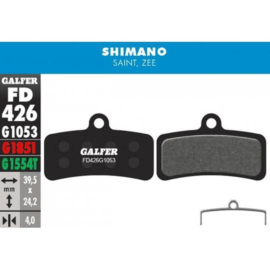 GALFER PASTILLAS SHIMANO SAINT BR-M810, ZEE