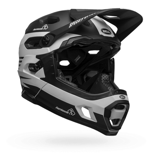 Casco Bell SUPER DH MIPS MATBK/WH FHOUSE
