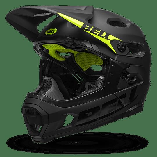 Casco Bell Super Dh Mips - Flex Spherical Mat/Gls Blk