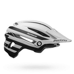 Casco BELL SIXER MIPS WHT/BLK FHOUSE