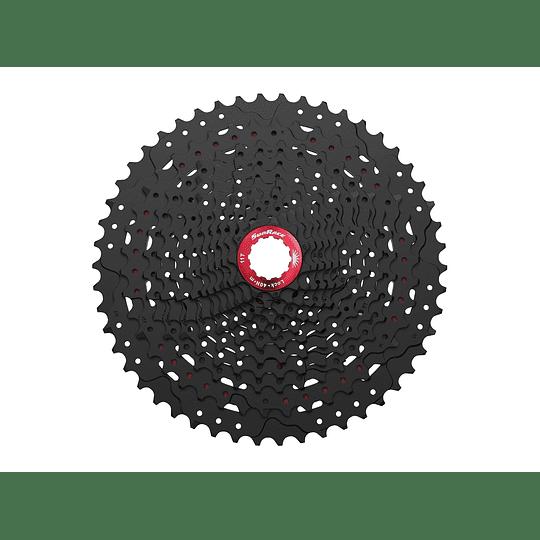 PIÑON SUN RACE CASSETTE MZ90 12S (11-50T) NEGRO