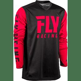 JERSEY FLY RACING RADIUM NEGRO/ROJO