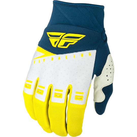 GUANTES FLY RACING F-16 YEL/WHT