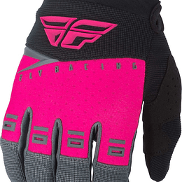 GUANTES FLY RACING F-16 BLK/PINK