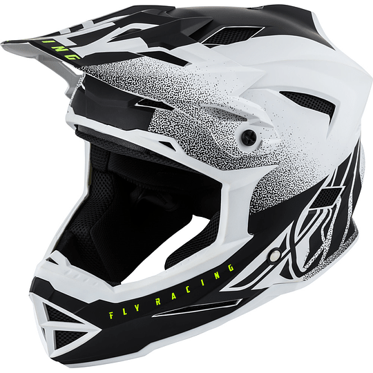 CASCO FLY RACING DEFAULT DITHER BLK/WHT