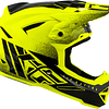CASCO FLY RACING DEFAULT DITHER YELLOW/BLK