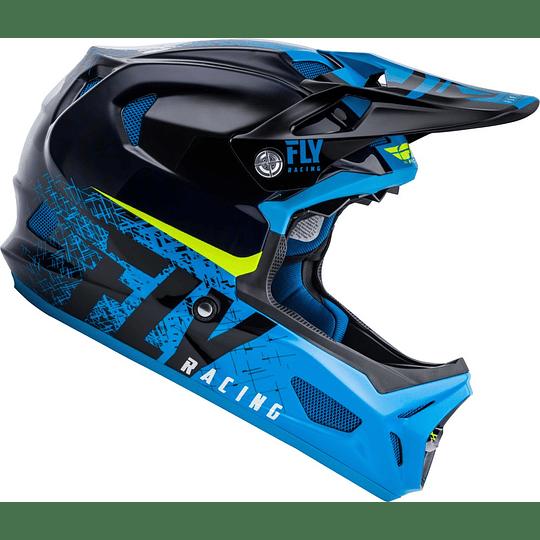 CASCO FLY RACING WERX IMPRINT BLK/BLUE