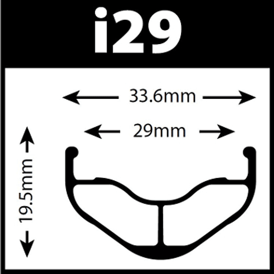WTB FREQUENCY i29 TEAM TCS, 32H 29er