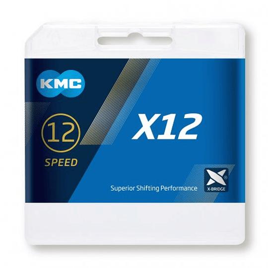 CADENA KMC X12 12V DORADA