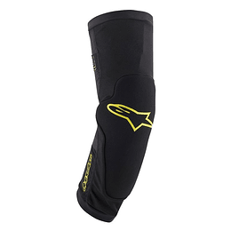 Rodilleras Alpinestars Paragon Plus - Blk Acid Yellow