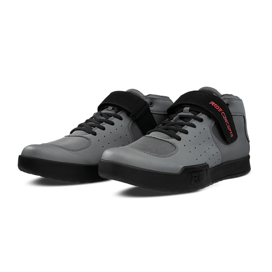 Zapatillas Ride Concepts Wildcat Rc Mens Charcoal/Red