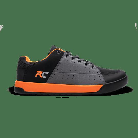 Zapatillas Ride Concepts Livewire Rc Mens Charcoal/Orange