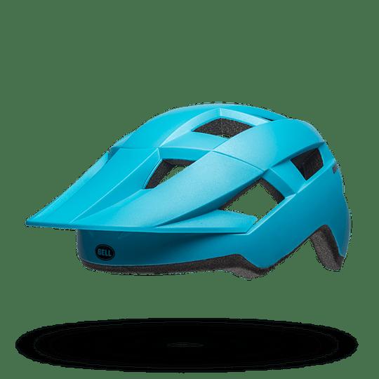 Casco Bell Spark Mips Mat  Mat Brt Blu/Blk