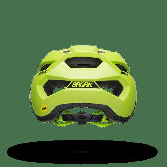 Casco Bell Spark Mips Mat Mat Brt Gn/Bk