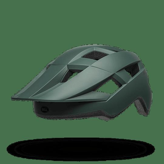 Casco Bell Spark Mips Mat Dk Grn/Blk