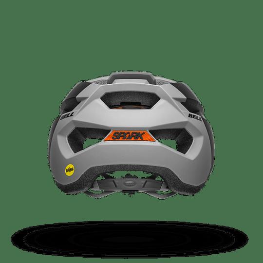 Casco Bell Spark Mips Mat Dk Gy/Ktm Or