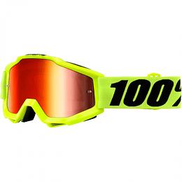 Antiparras 100% Accuri FLUO YELLOW