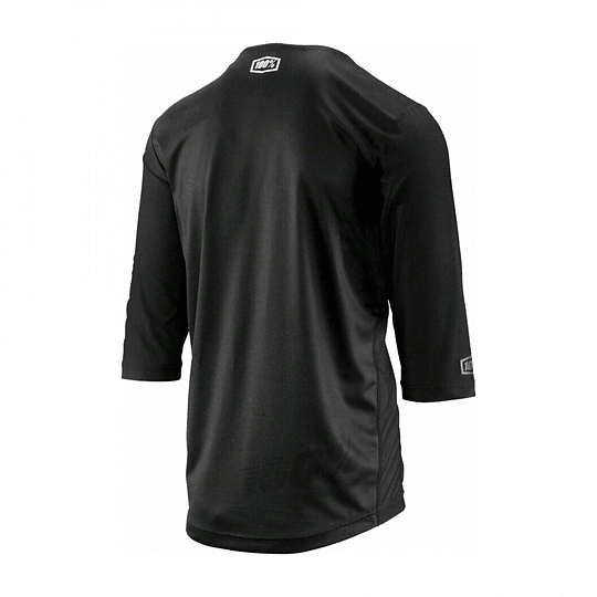 Jersey 100% Airmatic 3/4 Negro