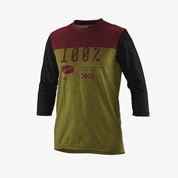 Jersey 100% Airmatic 3/4 Verde
