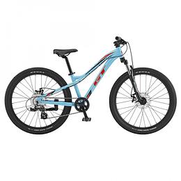"""Bicicleta GT Stomper Ace 24"""" Celeste"""