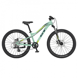 "Bicicleta GT Stomper Ace 24"" Turquesa"