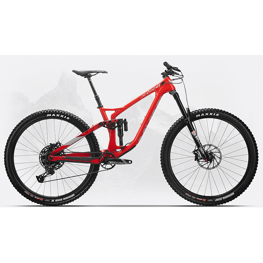 DEVINCI SPARTAN CARBON 29 NX12 RED (2020)