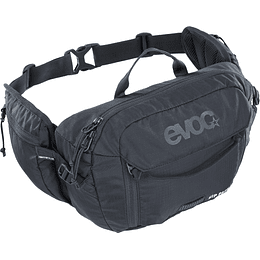 BANANO EVOC HIP PACK 3L+1.5L BLAD BLACK
