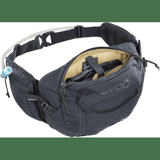 BANANO EVOC HIP PACK 3L+1.5L BLAD BLACK
