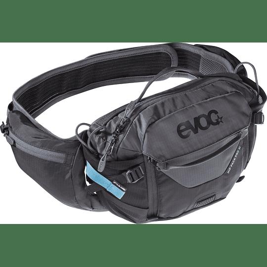 BANANO EVOC HIP PACK PRO 3L+1.5L BLAD BK/GREY
